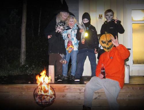 Min halloween – Spöket Laban